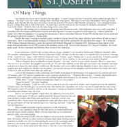 July 30, 2020  Parish Update