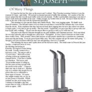 August 27, 2020 Parish Update