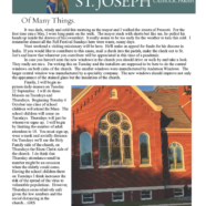 September 10, 2020 Parish Update