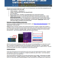 Virtual Auction Link and Instructions