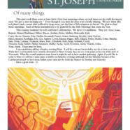 October 15, 2020 Parish Update