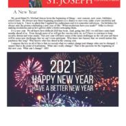 January 1, 2021 Parish Update