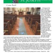 9 June 2021 Parish Update