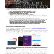 Fall Festival Silent Virtual Auction