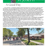 23 September St Joseph Parish Update